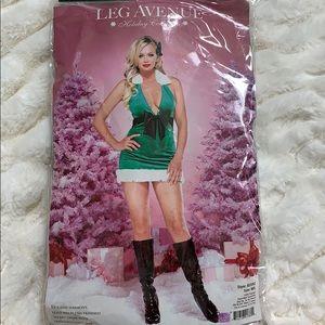 Velvet Holiday / Christmas Mini Dress / Tunic